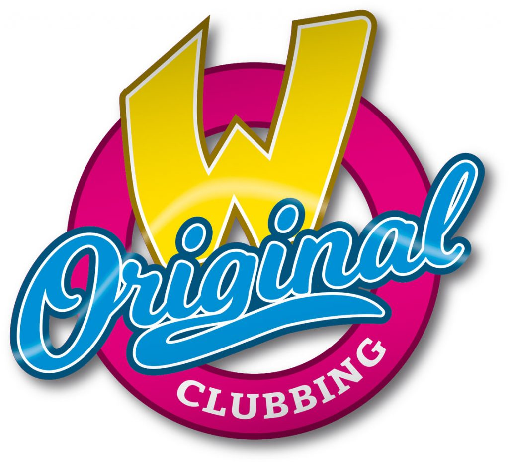 Event Design W-Clubbing Logo Original